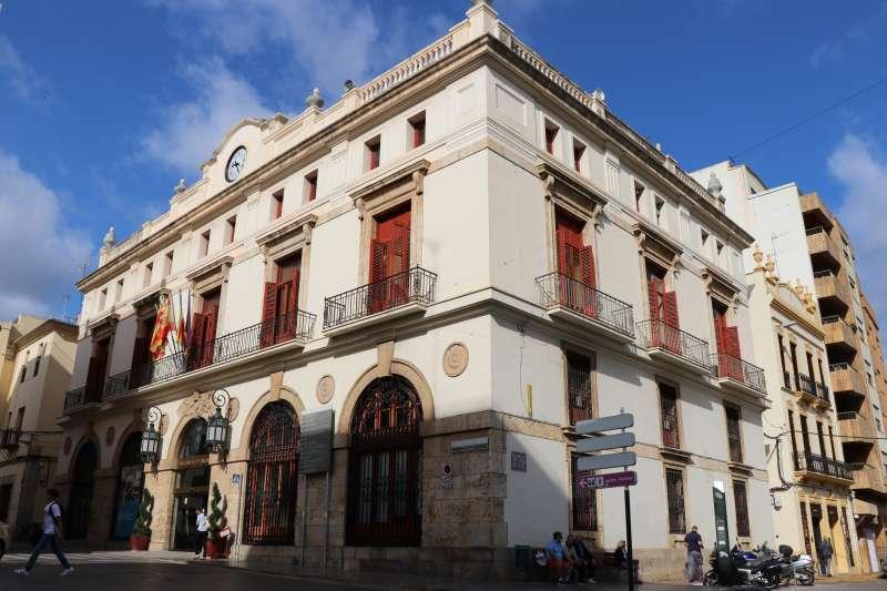 Ayuntamiento Sagunto./EPDA