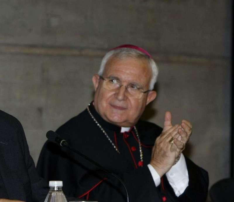 El obispo de Orihuela-Alicante, Jesús Murgui. EFE/MORELL/Archivo