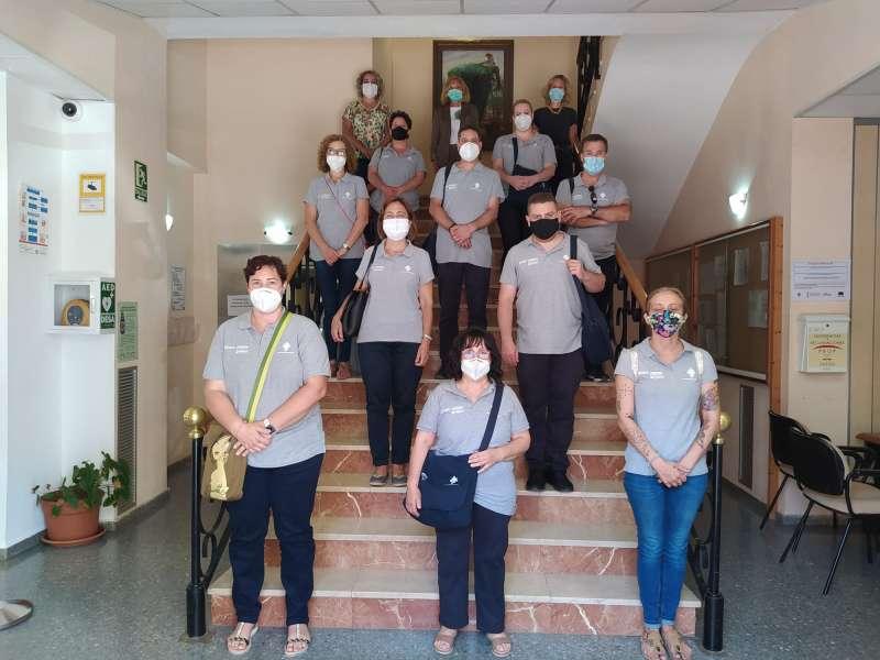 Participantes en el Taller de Empleo de Bétera. / EPDA