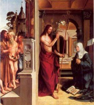 Anunciación, de Jorge Afonso, es una de las obras que podremos visitar en el Museo de Bellas artes de Valencia. Foto museobellasartesvalencia.gva.es