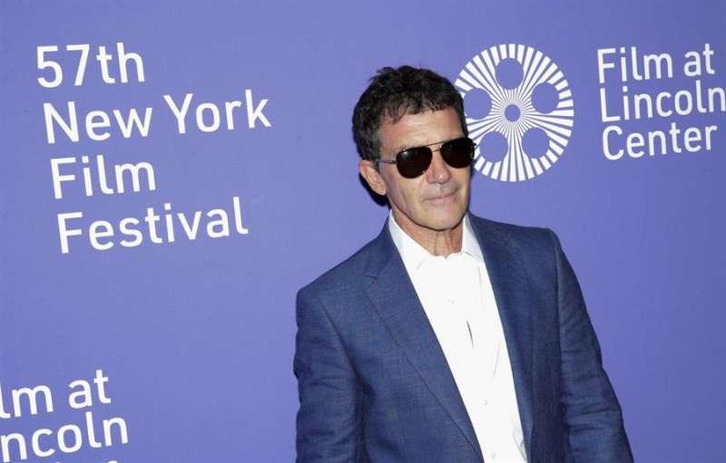 Antonio Banderas en el Festival del Cine de Nueva York este sábado en Nueva (Estados Unidos). EFE/Archivo