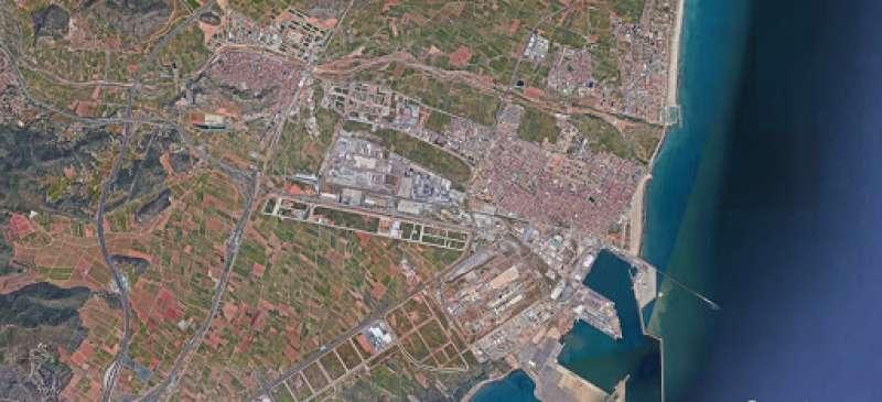 Vista aérea de Sagunt. / EPDA