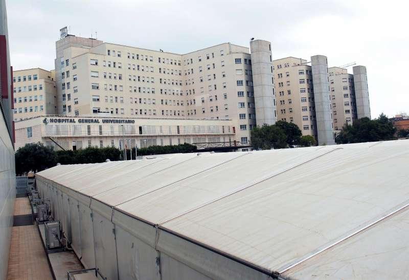 Imagen de archivo del Hospital General de Alicante. EFE