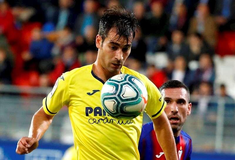 Manu Trigueros en acción durante un partido del Villarreal. EFE