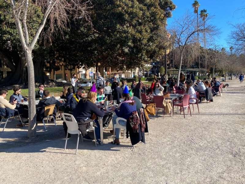 Foto en Restaurante Barbacana en la Alameda de Valencia.