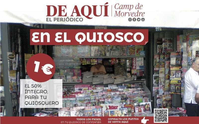 Imagen de la campaña promocional de El Periódico de Aquí.