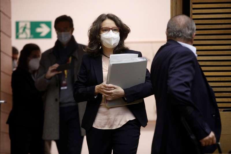 La vicepresidenta del Consell y consellera de Igualdad y Políticas Inclusivas, Mónica Oltra, en una imagen reciente.