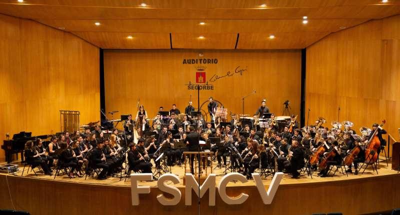 Joven Banda Sinfónica en el concierto Música a la Llum. EPDA