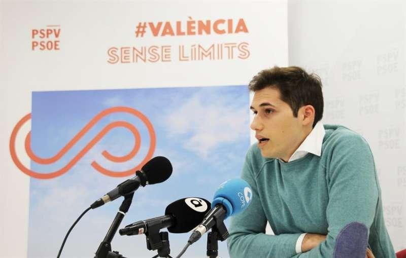 Borja Sanjuán en una imagen del PSPV-PSOE. EFE