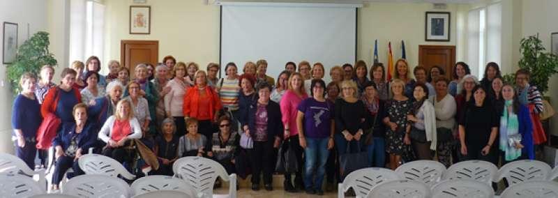Participantes en el encuentro de mujeres. EPDA