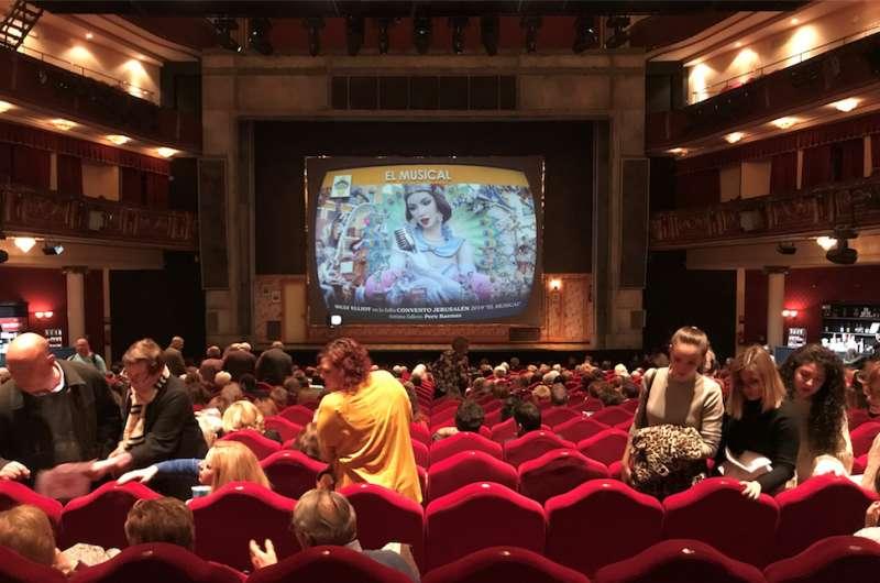 Representación en Madrid de Billy Elliot
