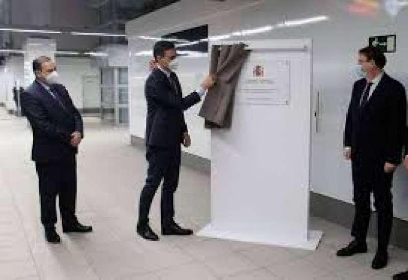 Inauguración estación Miguel Hernández/EPDA
