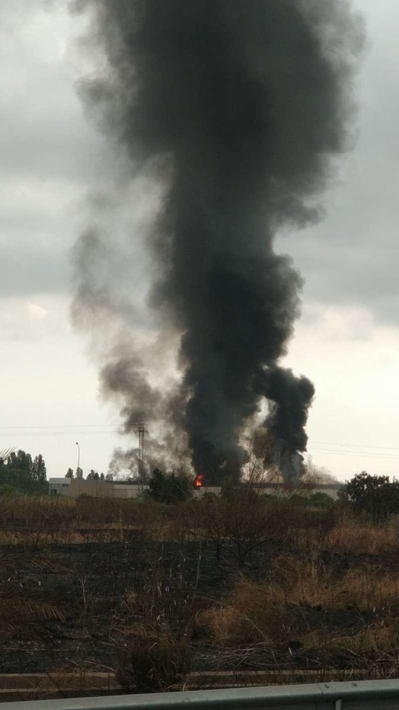 Incendio en Aldaia. Twitter