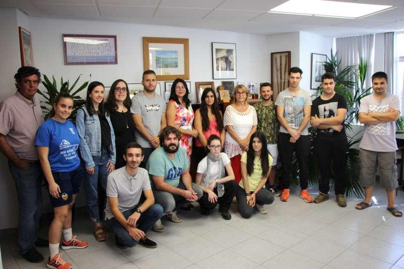 Joves del programa laboral Emcuju i Empuju. EPDA