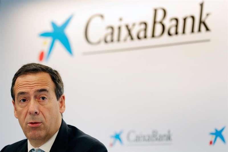 El futuro consejero delegado de la nueva CaixaBank, Gonzalo Gortázar, en una imagen de archivo. EFE/Kai Försterling