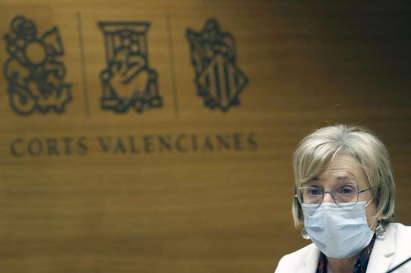 La consellera de Sanidad, Ana Barceló. / EFE/Kai Försterling/Archivo