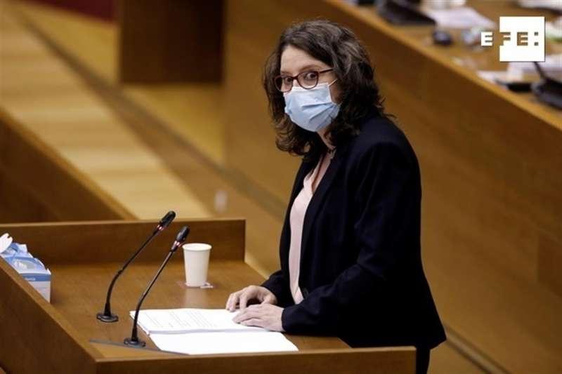 La vicepresidenta del Consell y consellera de Igualdad y Políticas Inclusivas, Mónica Oltra