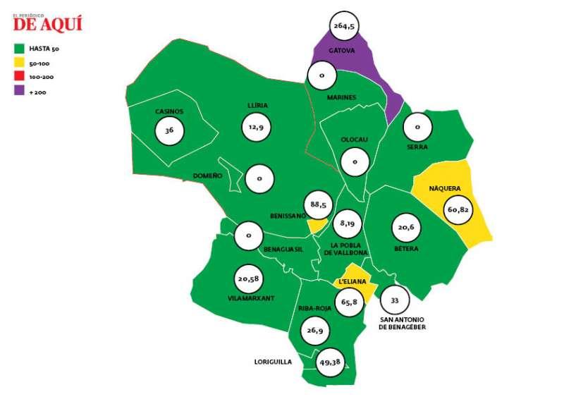 Mapa. EPDA.