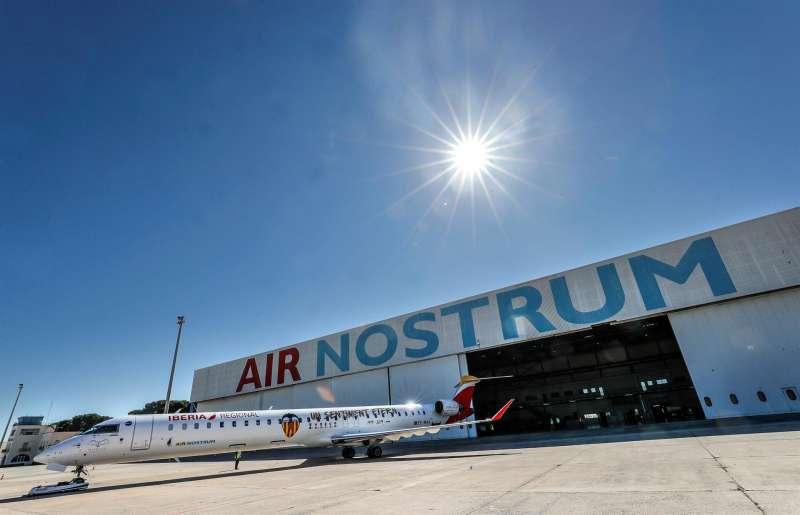 Instalaciones de Air Nostrum.