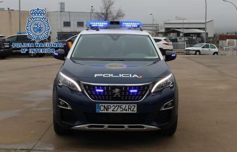 Imagen de un vehículo de la Policía Nacional.