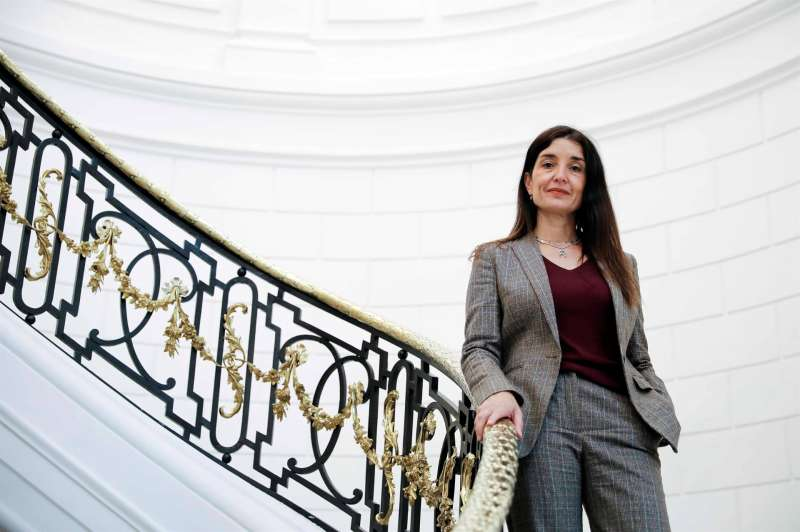 La nueva síndica de Ciudadanos en les Corts, Ruth Merino. EFE/Ana Escobar.
