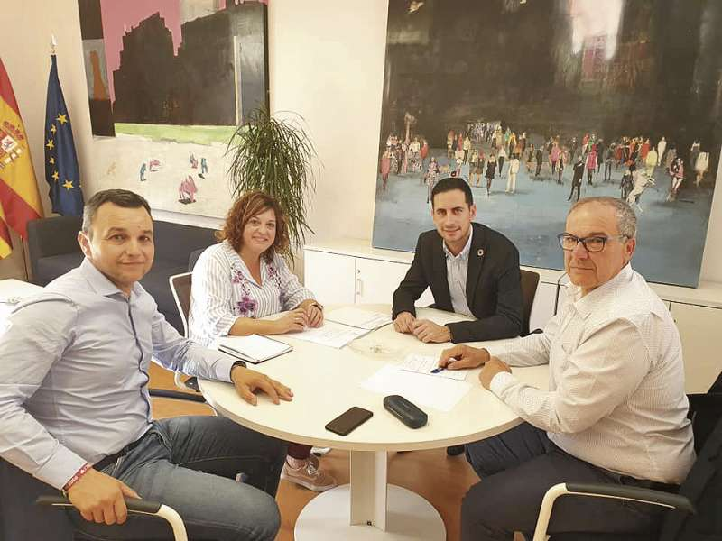 Reunión Quintana, Garrigues, Bielsa y Portero