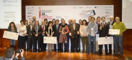 Premios Emprendedores Comunitat Valenciana. Foto EPDA