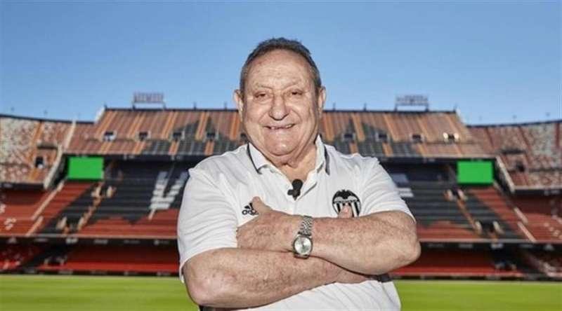 Españeta, en la imagen distribuida hoy por el Valencia CF. efe