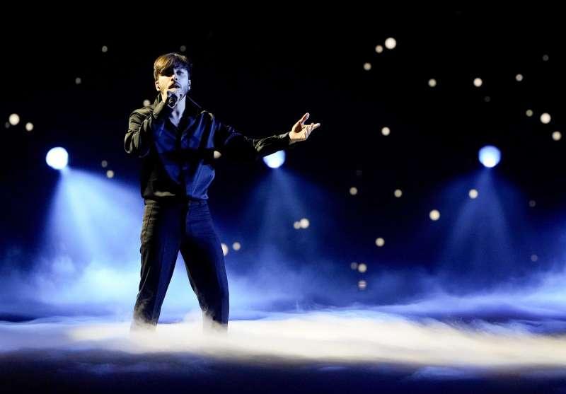 Blas Canto, representante de España en Eurovisión 2021.