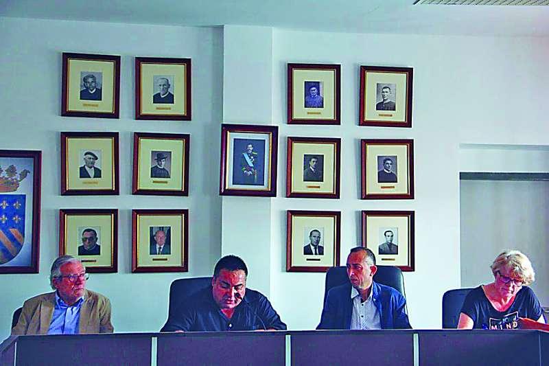 El ex alcalde de Torres Torres en un acto. EPDA