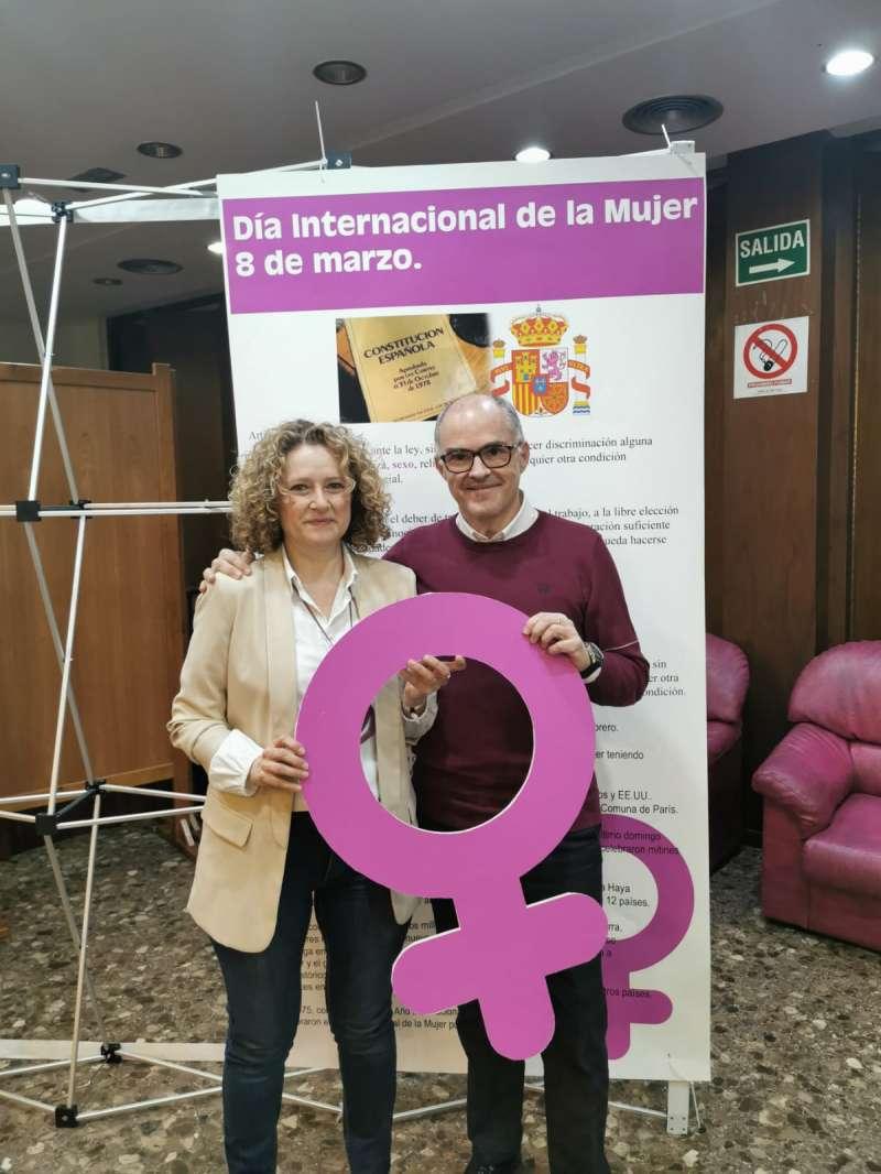 Amparo Folgado y Fernando de Rosa. EPDA