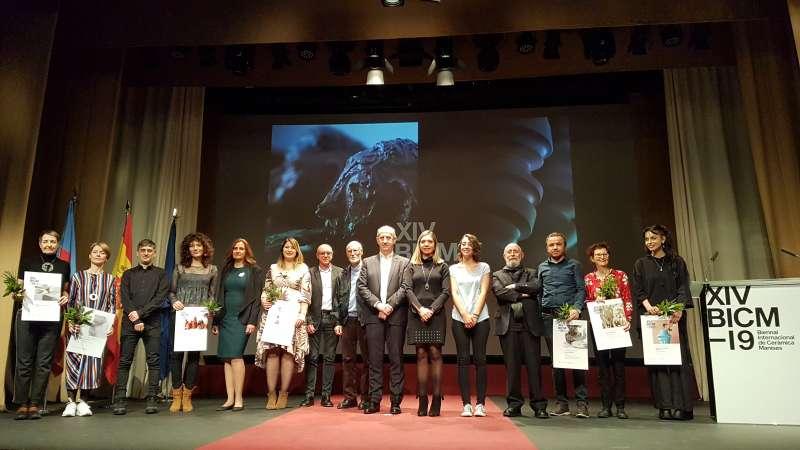 Foto de família del lliurament dels premis. EPDA