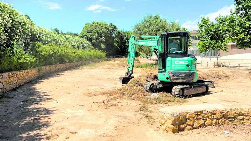 Chiva inicia las obras de renovación en el Parque de la Juventud