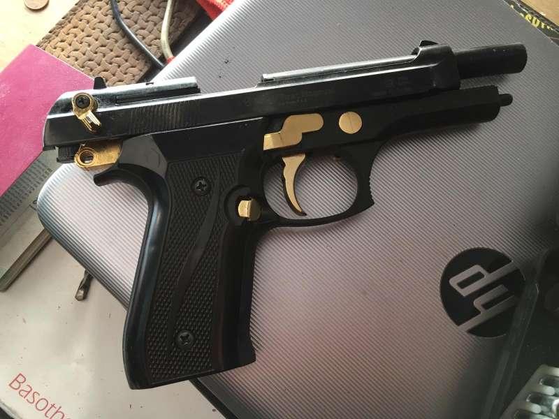Imagen del arma de fuego del individuo./epda