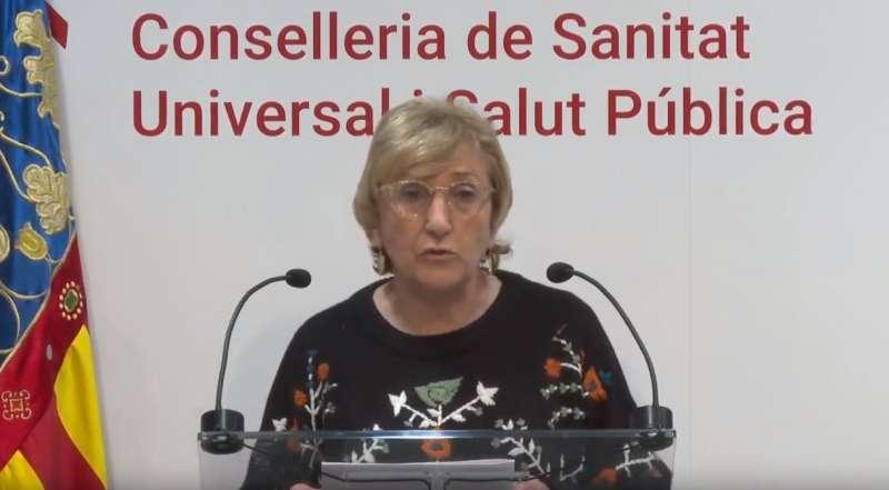 La consellera de Sanitat, Ana Barceló. EPDA