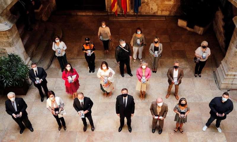 Dirigentes políticos valencianos