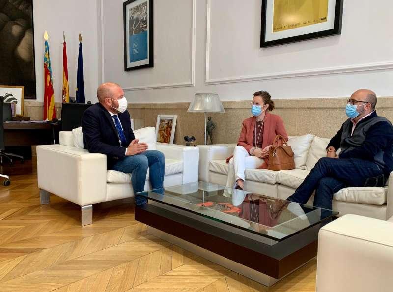 Encuentro Gaspar, Benlliure y Viana