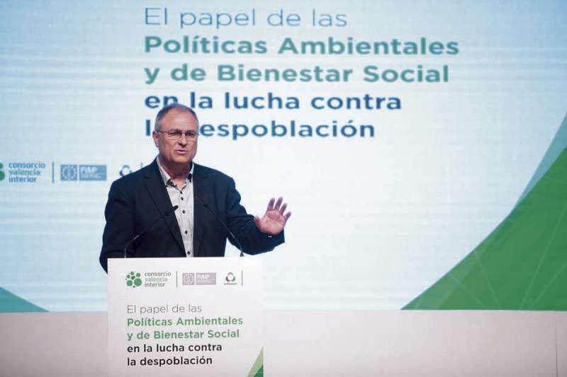 Manolo Civera, presidente del Consorcio Valencia Interior. EPDA