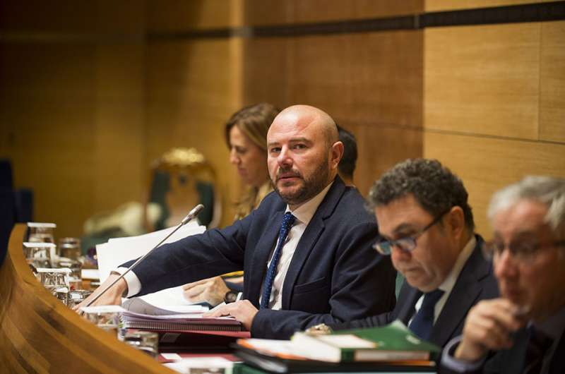 El presidente de la Diputació de València, Toni Gaspar. EPDA