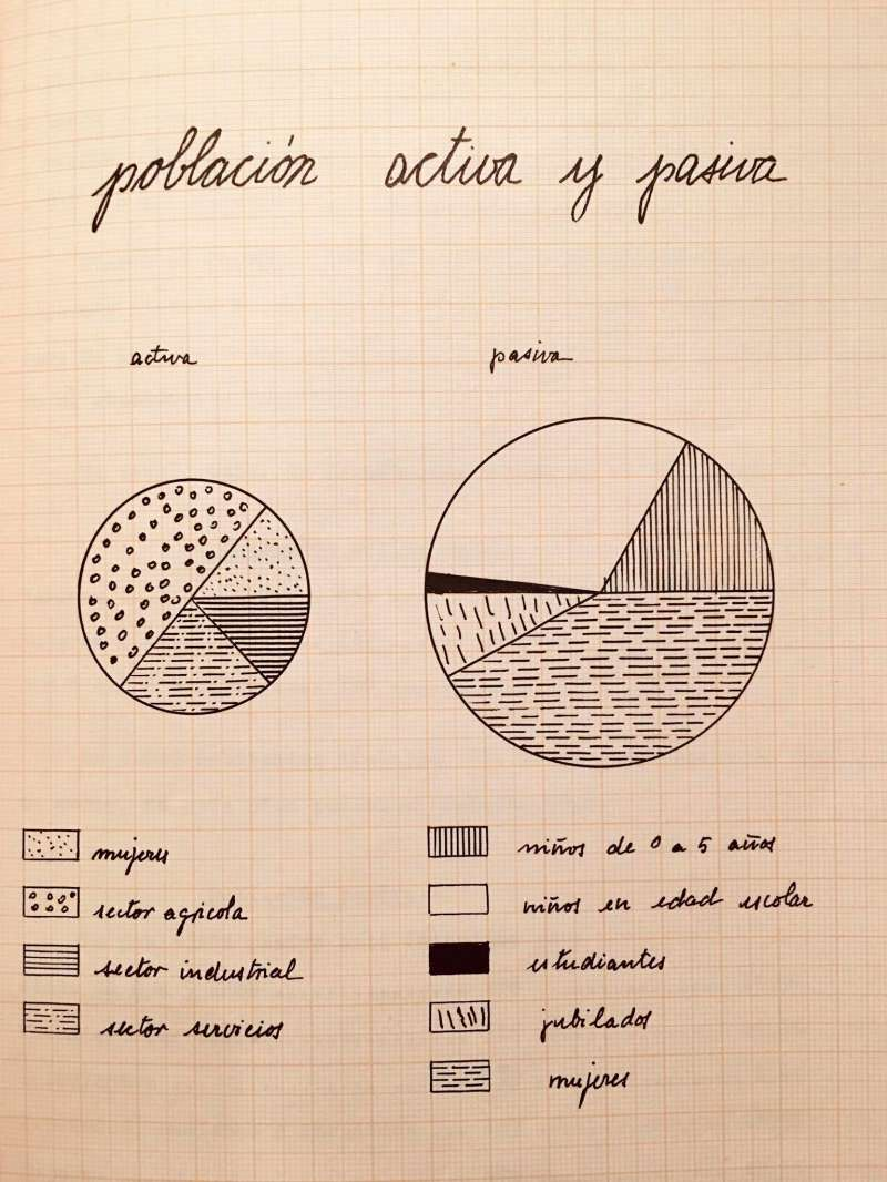 Gráfica del estudio de población. / EPDA