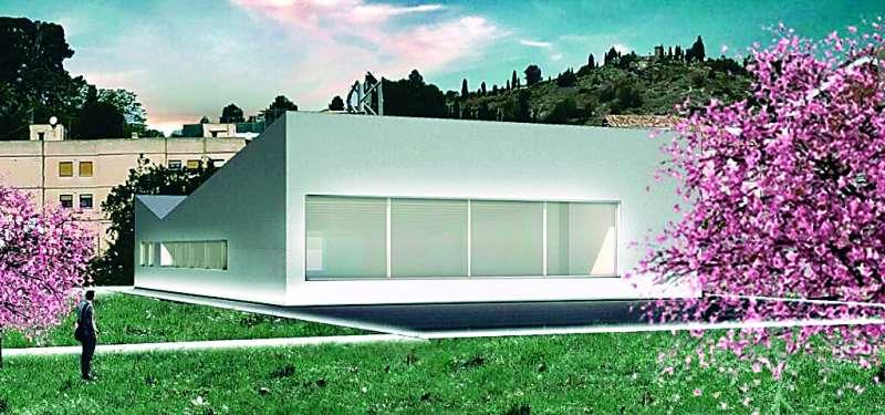 Imatge virtual de la casa de cultura. EPDA