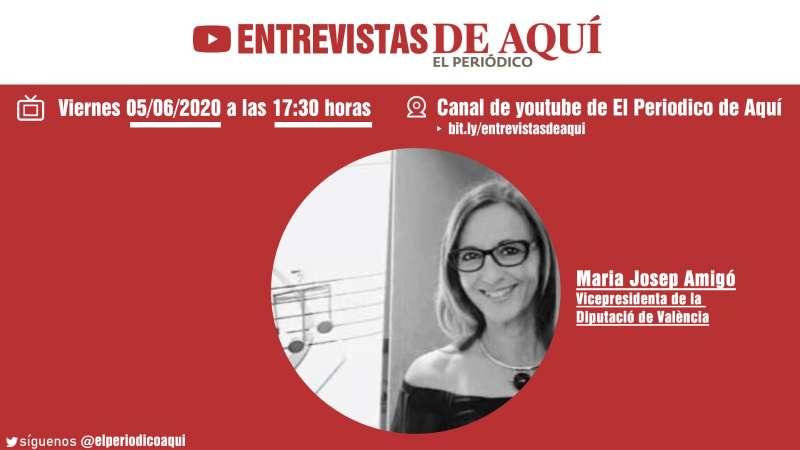 Maria Josep Amigó, viernes 5 de junio.