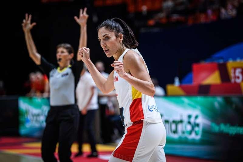 Cristina Ouviña. / Foto FIBA