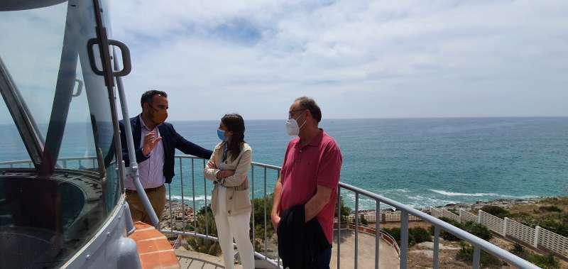 Visita de la Autoridad Portuaria/EPDA
