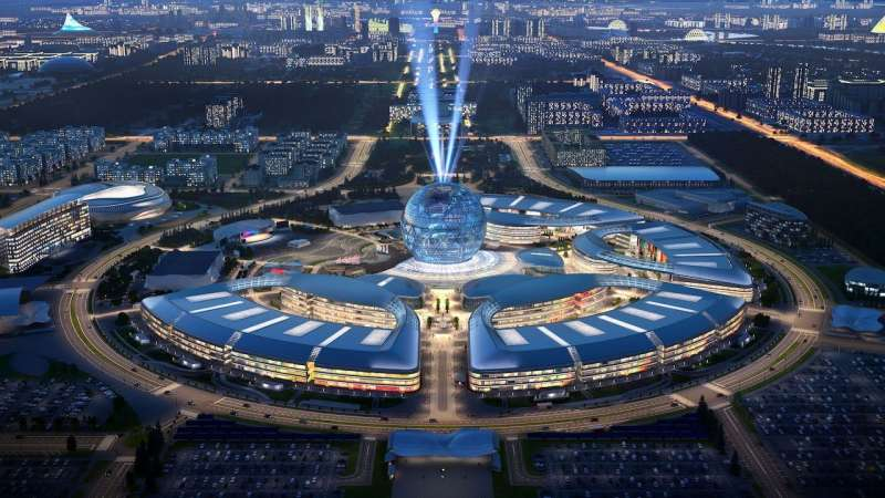 Centro financiero Astana. EPDA