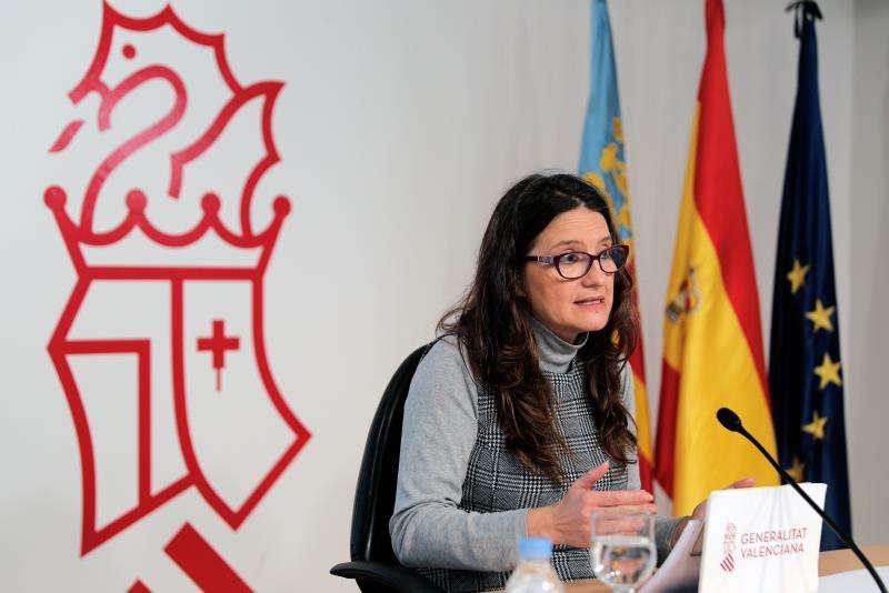 La vicepresidenta y Portavoz del Gobierno valenciano, Mónica Oltra. EFE/Archivo