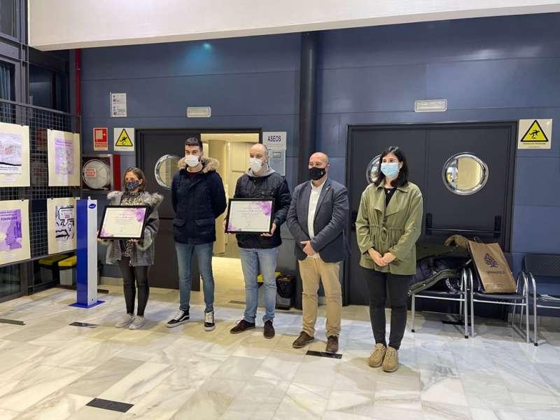 Premio del concurso de carteles en Massamagrell. EPDA
