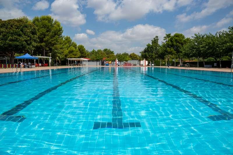 La piscina de Milsta. EPDA