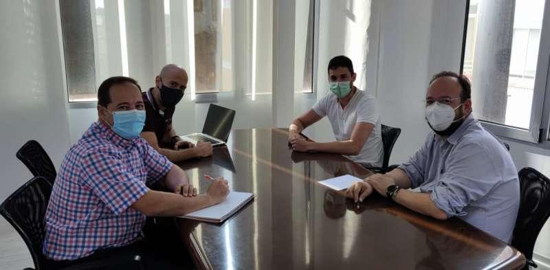 Reunió del projecte europeu. EPDA.