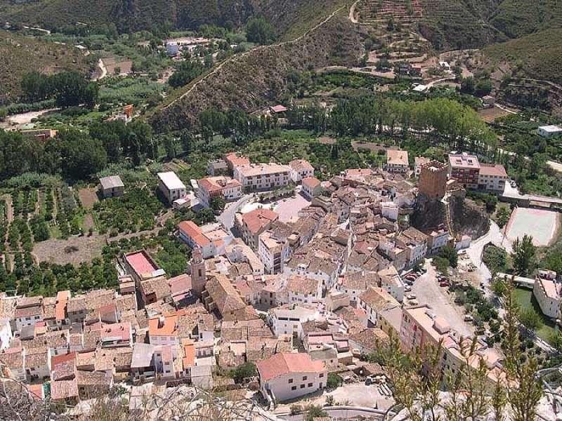 Vista aérea de Sot de Chera. / EPDA